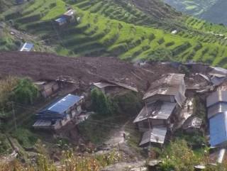 अझै ठूलो क्षति हुनसक्ने : ' लिदीको बस्ती स्थानान्तरण गरीने'