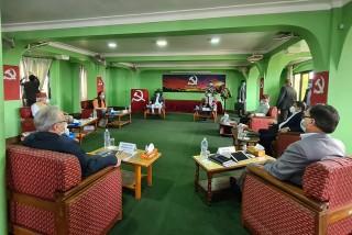 पेरिसडाँडा  पुग्याे  सचिवालय  बैठक : ' मन्त्रिपरिषद् पुनर्गठनबारे छलफल'