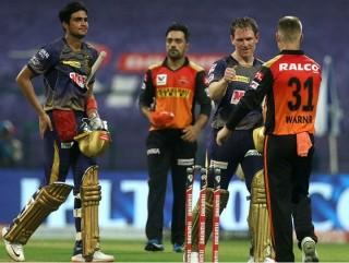 आईपीएलमा कोलकत्ता नाइट राइडर्स विजजी, सनराईजर्स हैदराबाद ७ विकेटले पराजित