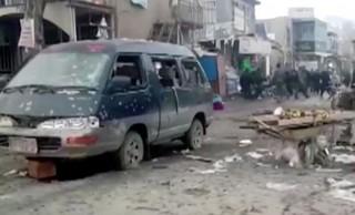 अफगानिस्तानमा दुई विष्फोटमा परी कम्तीमा १४ जनाको मृत्यु