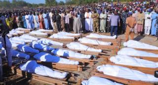 नाइजेरियामा खेतमा काम गरिराखेका ११० किसानको घाँटी रेटेर हत्या