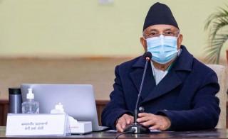 """दाहाल–नेपाल समूह निर्णय  :  """"ओलीलाई पार्टी सदस्यबाट हटाउन  प्रक्रिया थाल्ने"""""""