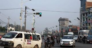 उपत्यकाका  ट्राफिक बत्ती   :  'इन्टेलिजेन्ट ट्राफिक लाइट सिस्टम' जडानको तयारी