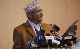 """दाहाल–नेपाल समूह  निर्णय : ओलीलाई पार्टी सदस्यबाट हटाइयाे """""""
