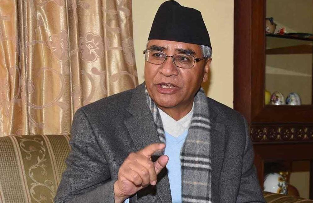 """कांग्रेस सभापति  देउवाले  भने : """"   नेपाली  कांग्रेस संकटमा  छैन,  रहँदैन पनि """""""