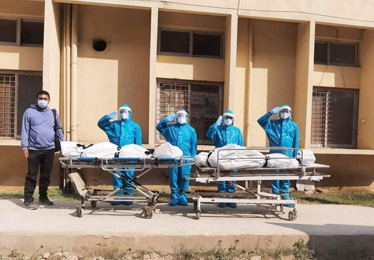 बाँके : ' थप तीन जना कोरोना संक्रमितको मृत्यु'