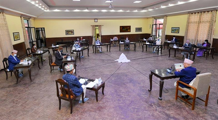 मन्त्रिपरिषद् बैठक :  ' यस वर्षकाे  एसईई  नहुने,   नतिजा  आन्तरिक मूल्यांकनबाटै '