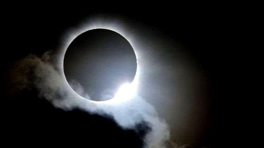 आज खण्डग्रास सूर्य ग्रहण लाग्दै