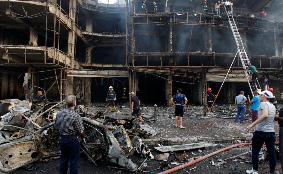 इराकमा भीषण बम विस्फोट :  'कम्तीमा २८ को मृत्यु, ६६ घाइते'