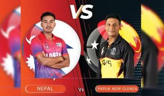 पपुवा न्युगिनीविरुद्ध एकदिवसीय क्रिकेट :  नेपाल विजयी