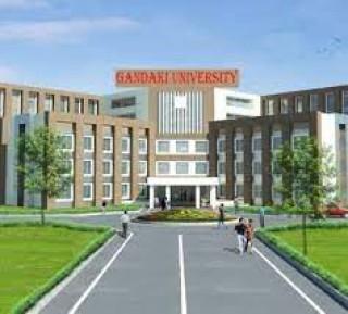 गण्डकी विश्वविद्यालय : 'स्थापनाको दुई वर्षपछि पढाई सुरु'