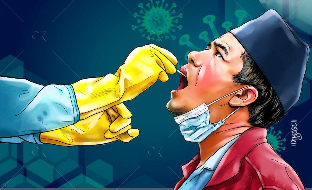 २४ घण्टामा: ५९६ जना संक्रमित, १० जनाको मृत्यु